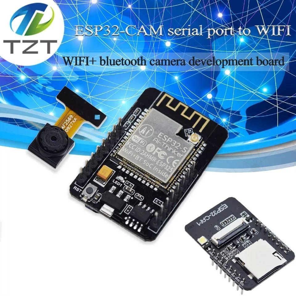 Moduł ESP32 z bluetoothem i wifi + kamera 2Mpix do arduino