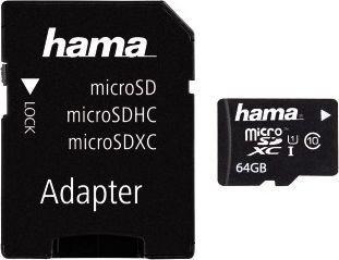 Karta MicroSD Hama 64GB w morele.net