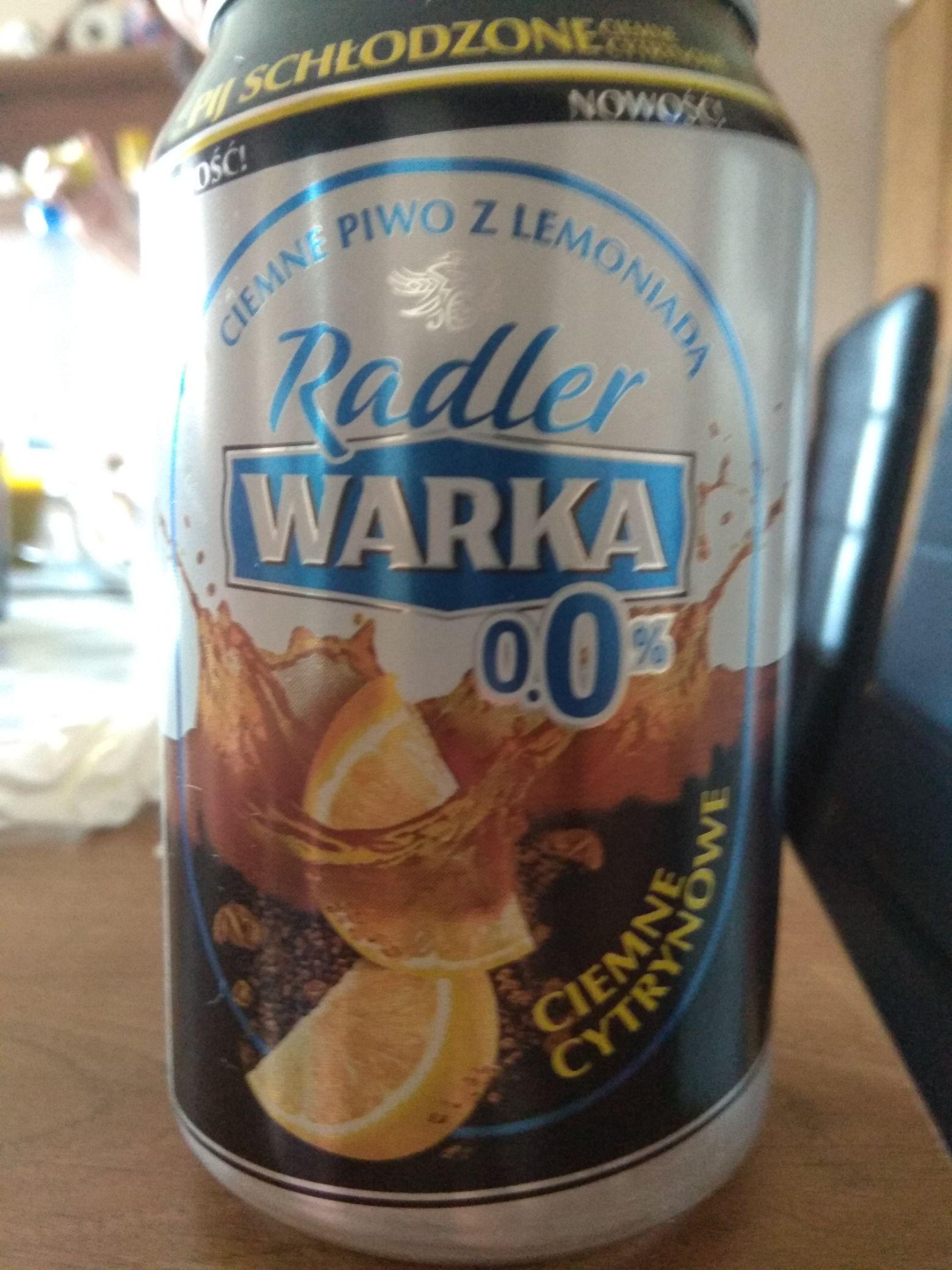 Darmowe piwo radler Warka piękne panie rozdają