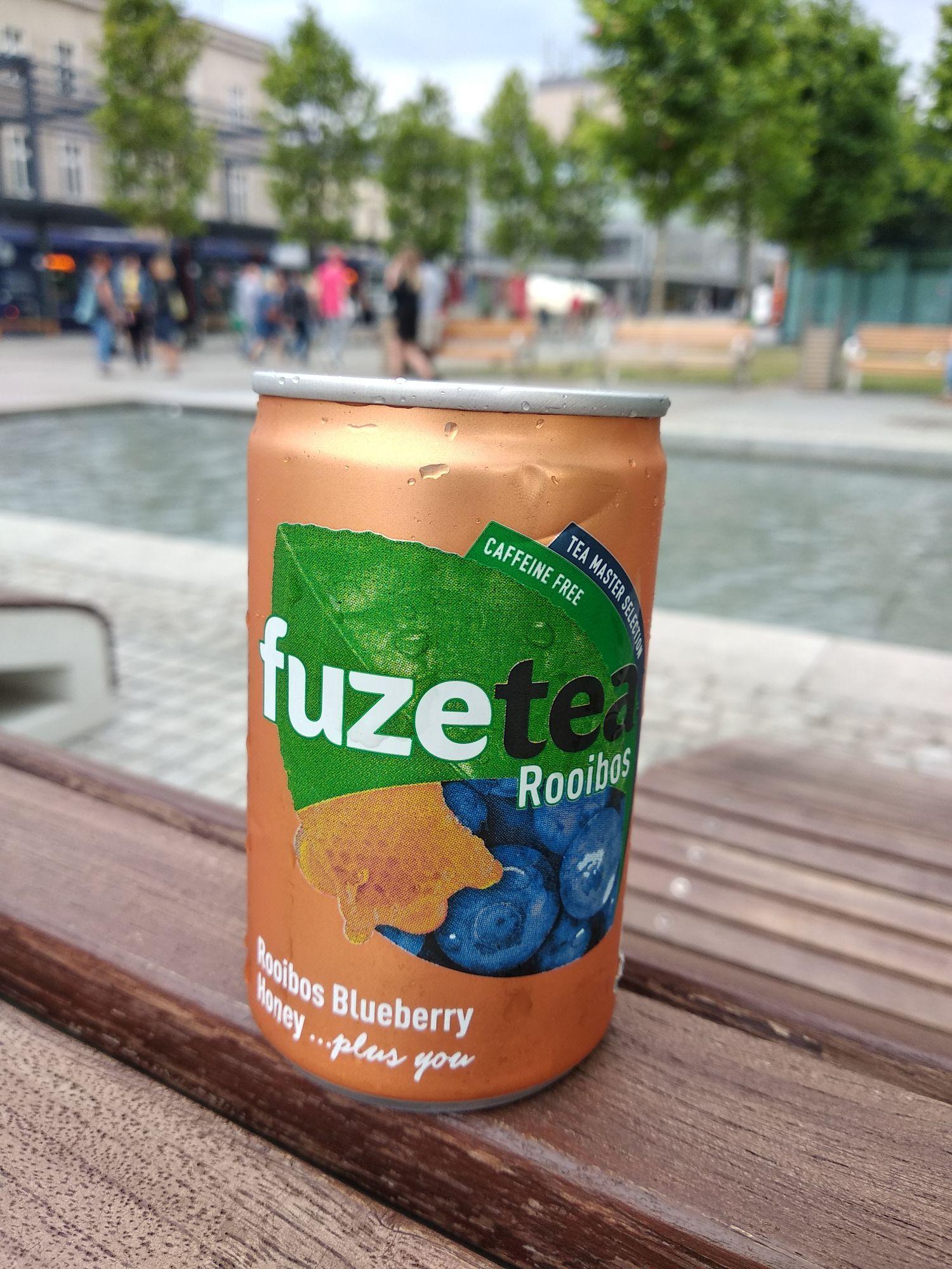 Darmowa puszka fuze tea Katowice rynek