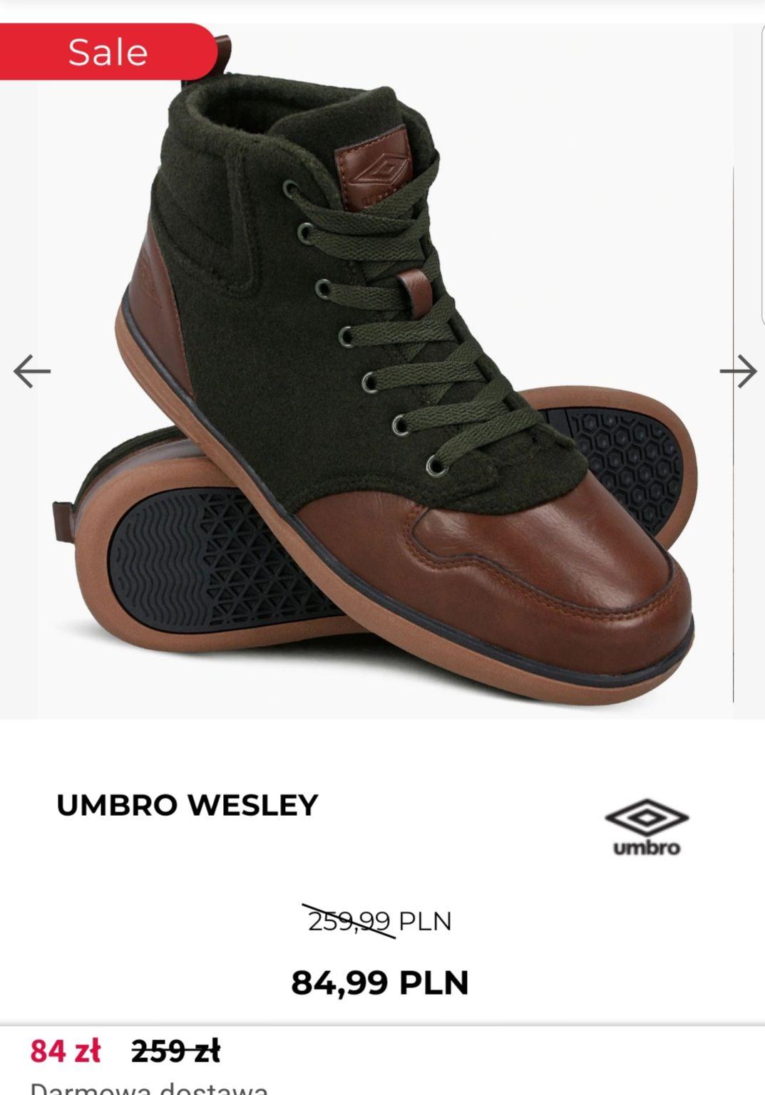 UMBRO WESLEY brązowe/czarne