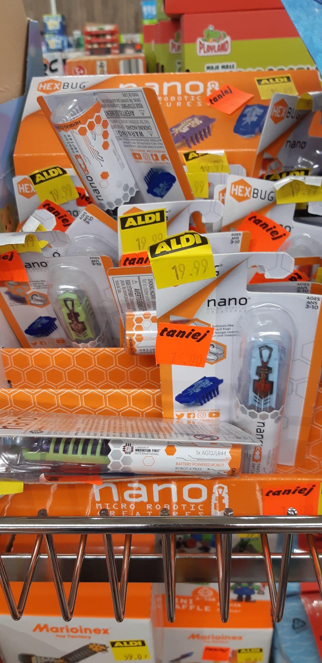 Hexbug Nano - Aldi Głogów