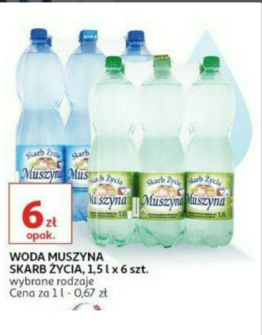 Woda Muszyna Skarb Życia 6 zł/6 szt X 1,5l Auchan