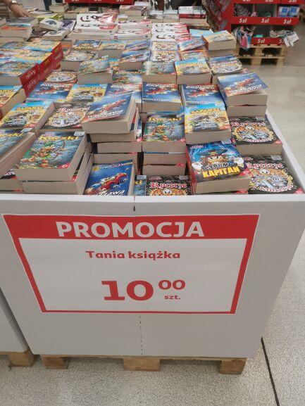 Tania książka w Auchan Łomianki.