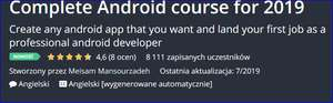 Kurs Udemy Complete Android course for 2019 Create any android app that you want and land your first job as a professional android developer