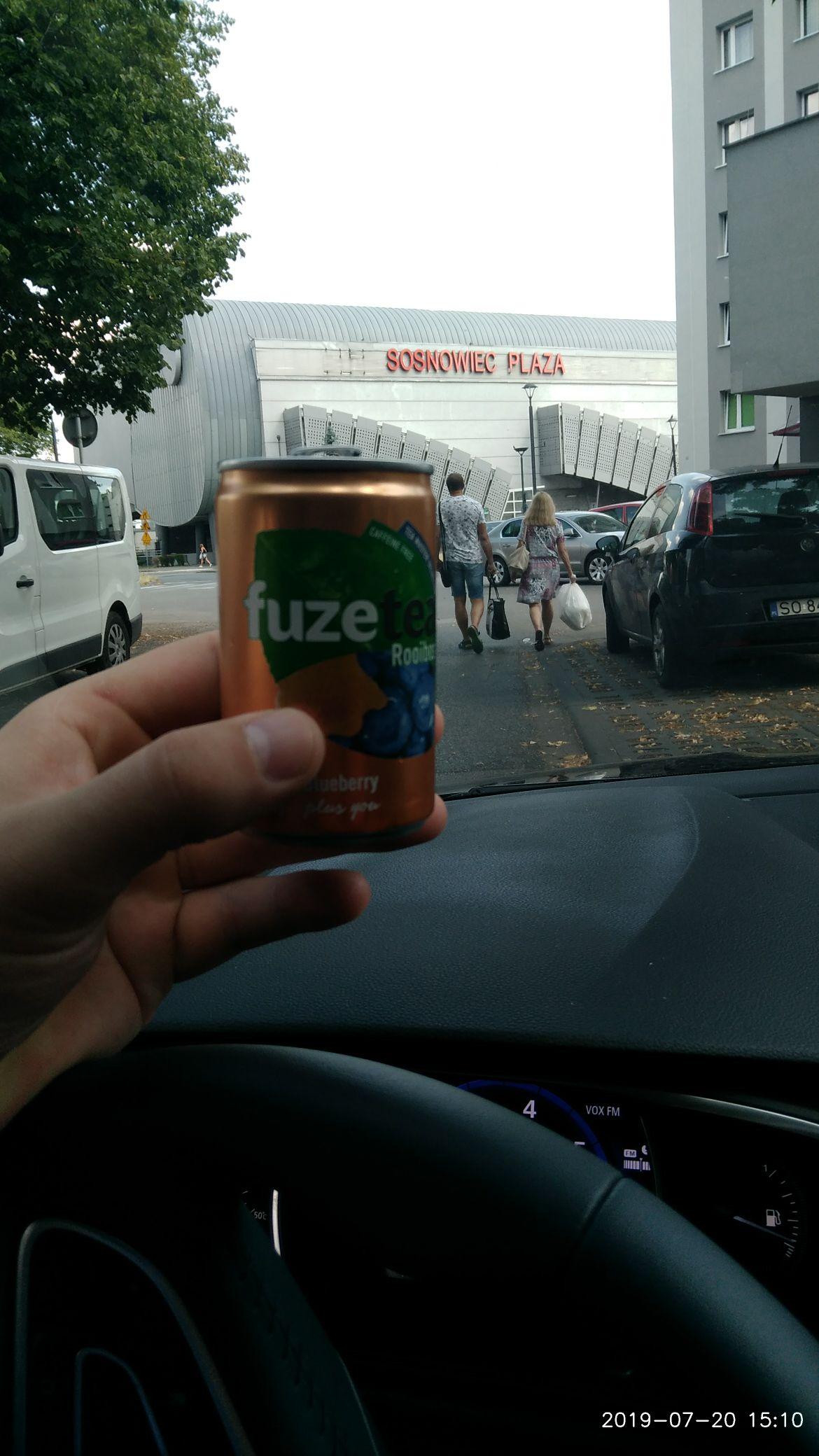Fuze Tea za darmo Sosnowiec Plaza