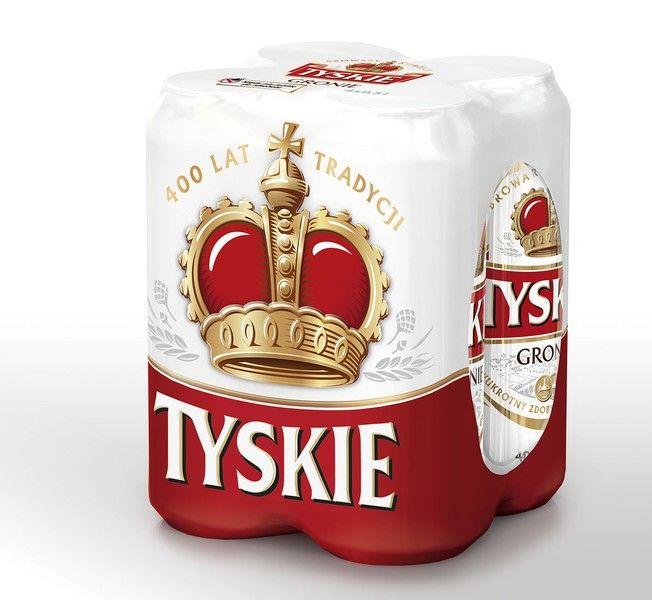 Piwo Tyskie przy zakupie 4 paku - Biedronka