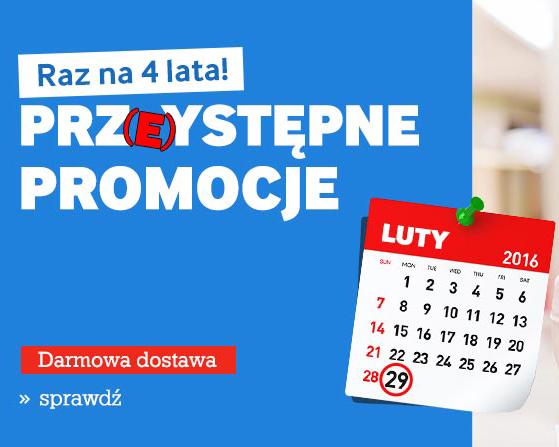 Agito.pl - Przystępne promocje - Tylko 29 lutego