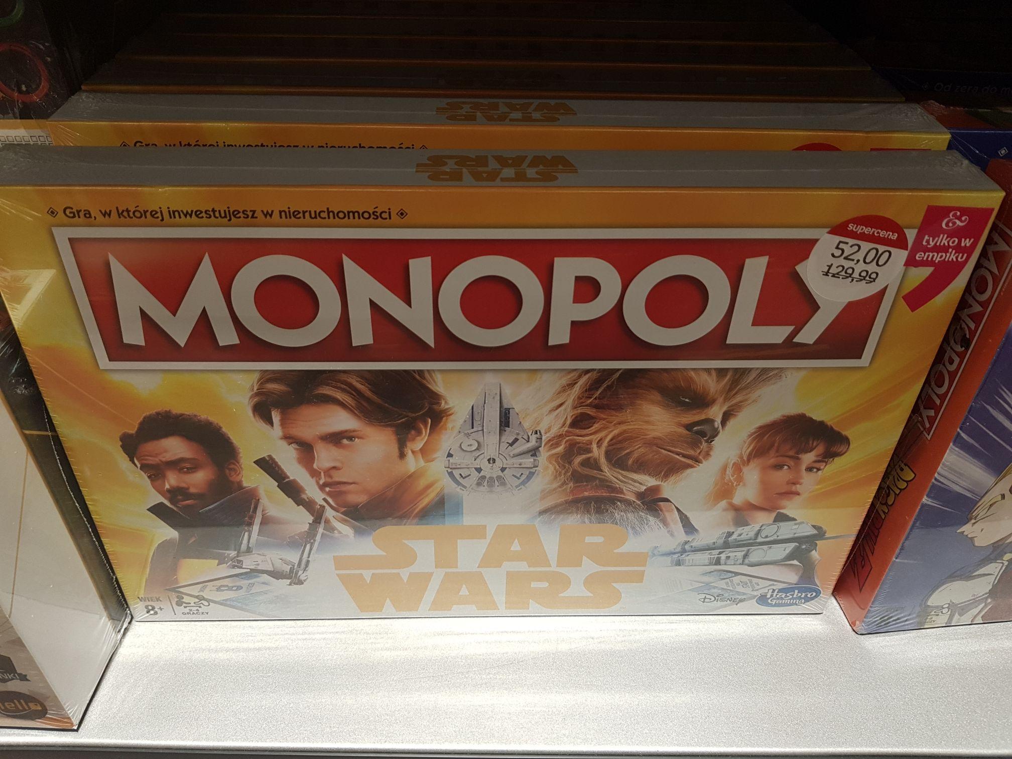 Monopoly Star Wars Empik Warszawa Centrum