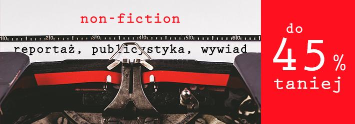 Literatura faktu z rabatami do -45% (+ darmowy odbiór) @ Świat Książki