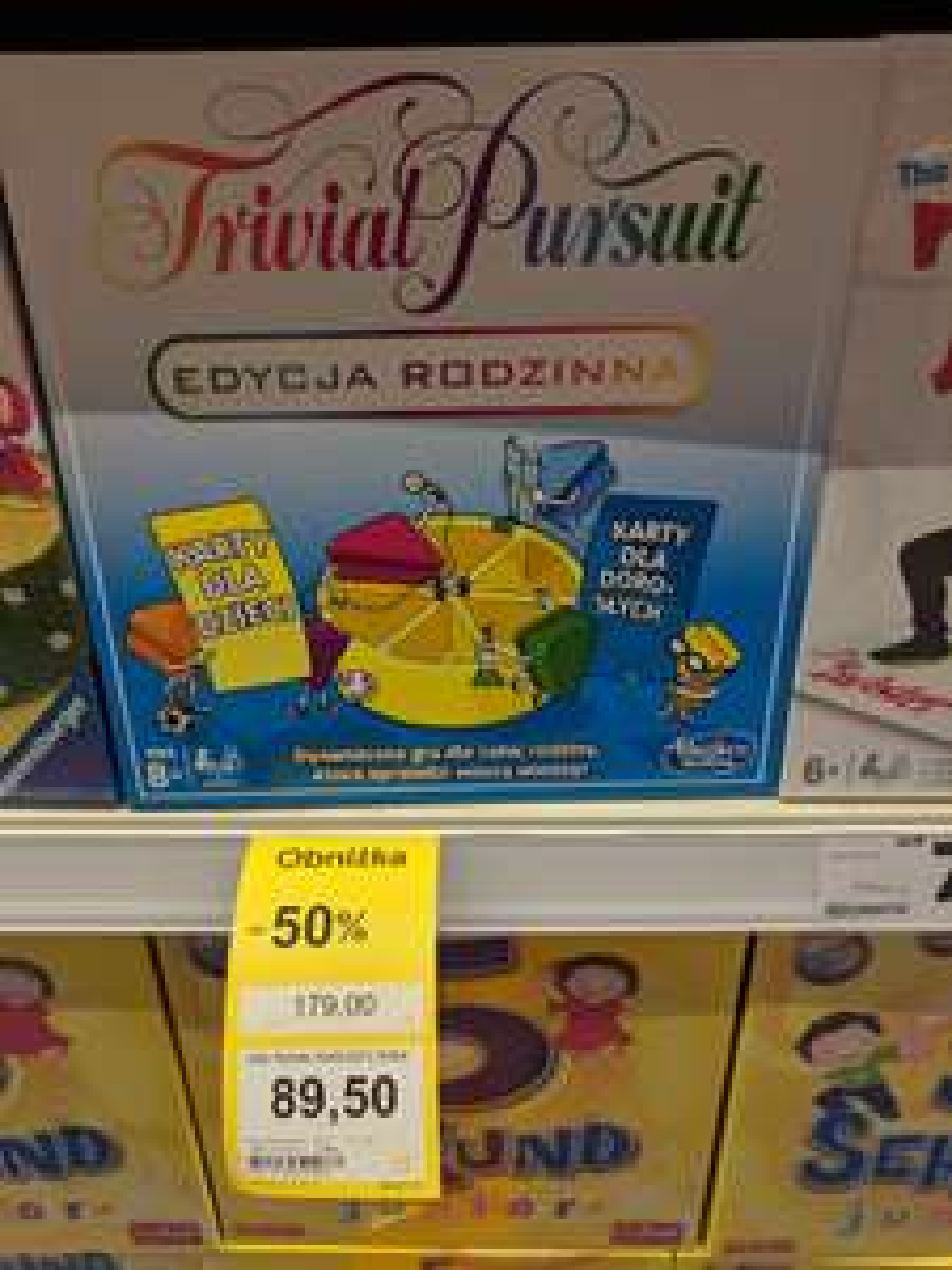 Trivial Pursuit Edycja Rodzinna