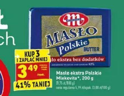 Masło Extra Polskie Mlekovita - Biedronka
