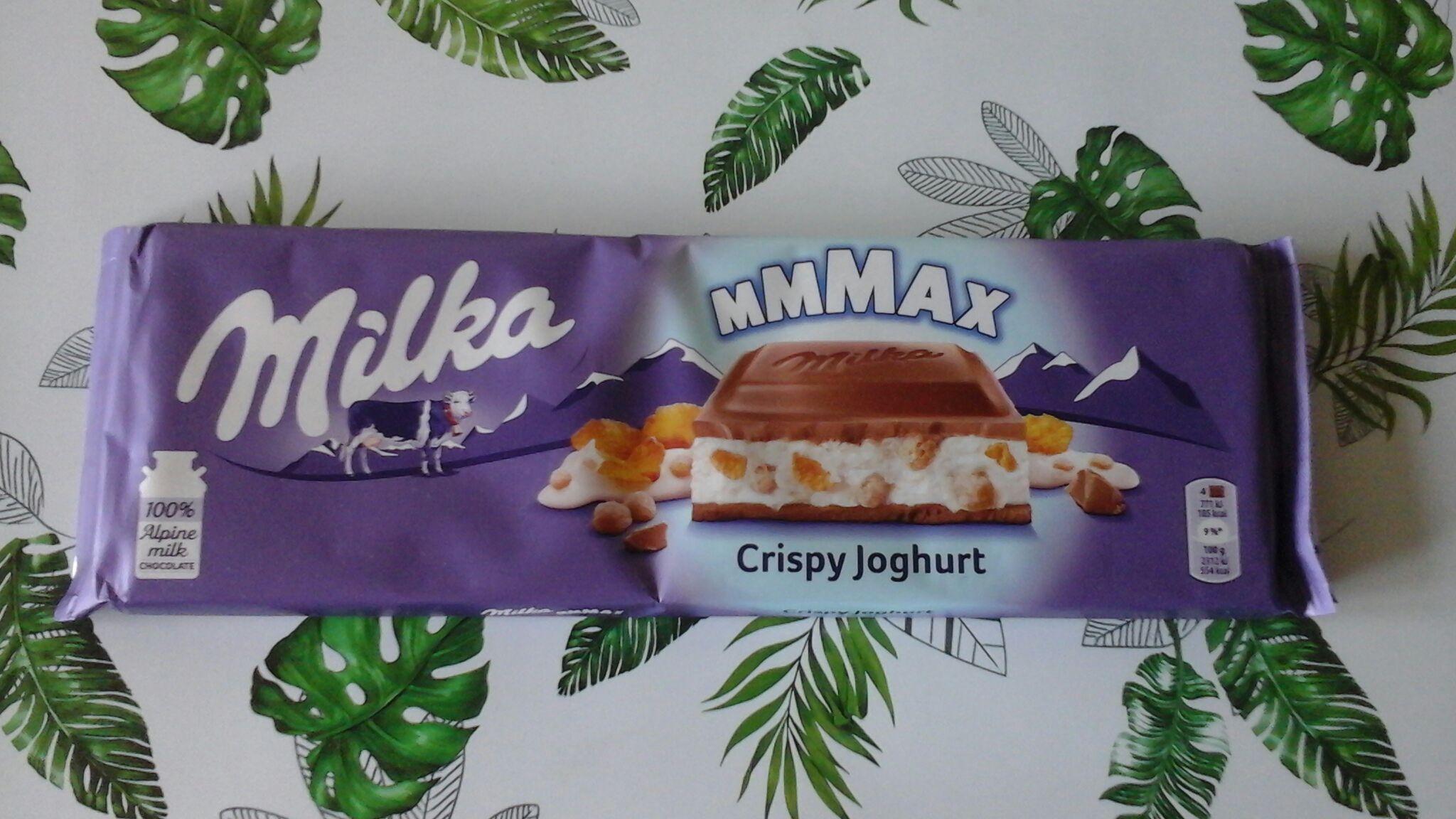Czekolada Milka Crispy Joghurt 300g Tesco Gliwice