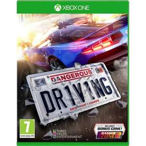 Dangerous Driving Xbox One/PS4