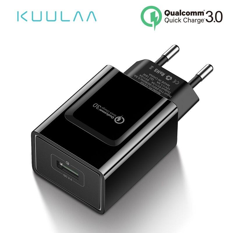 Ładowarka USB Kuulaa 18W Quick Charge 3.0 za 1,73USD - AliExpress