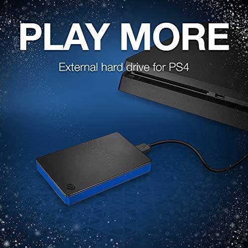 Seagate Game Drive do PS4 2TB