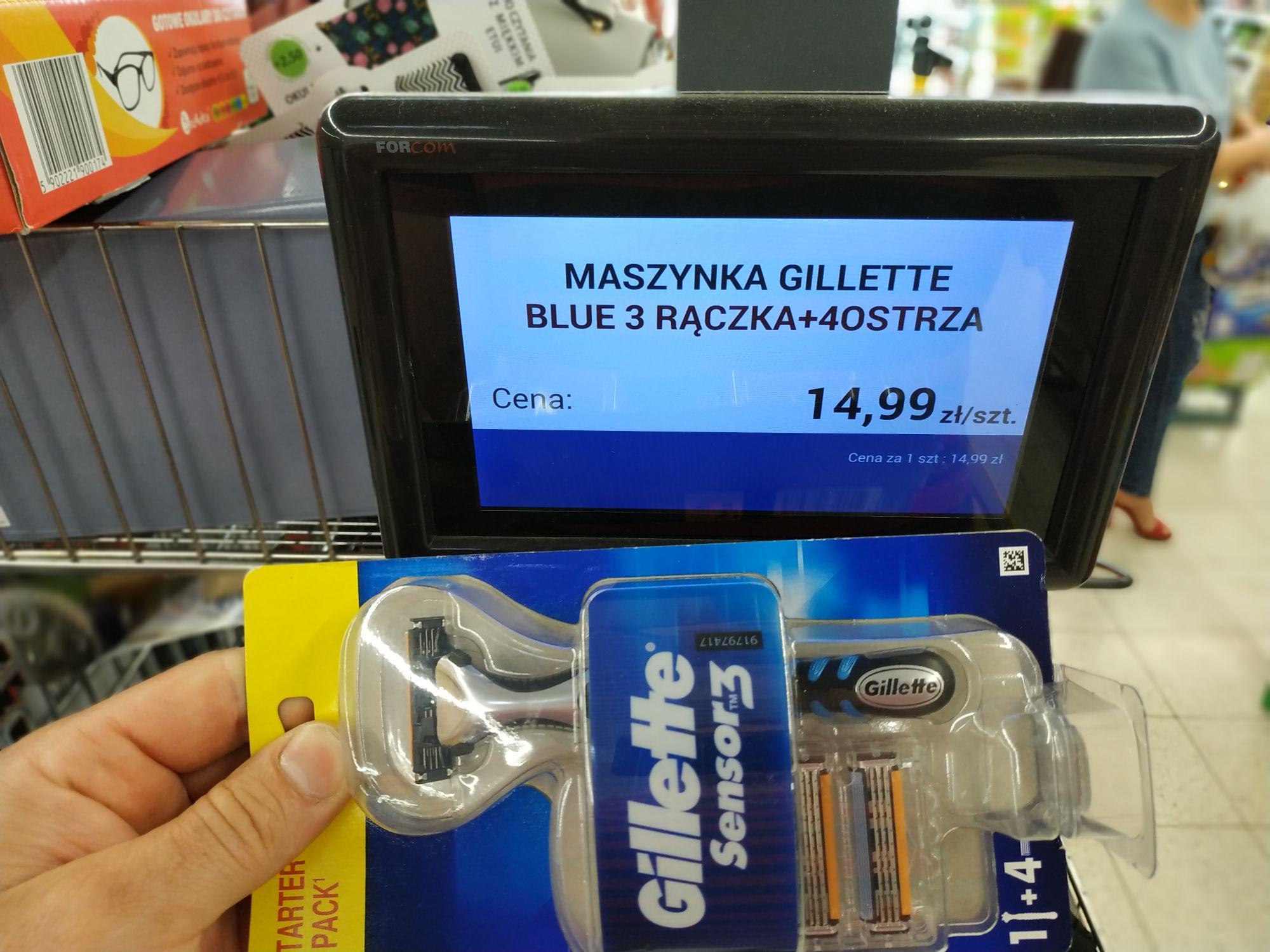 Gillette sensor 3 Biedronka
