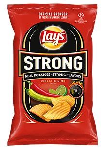 Lay's Strong Chilli & Limonka NAJTANIEJ w Tesco.