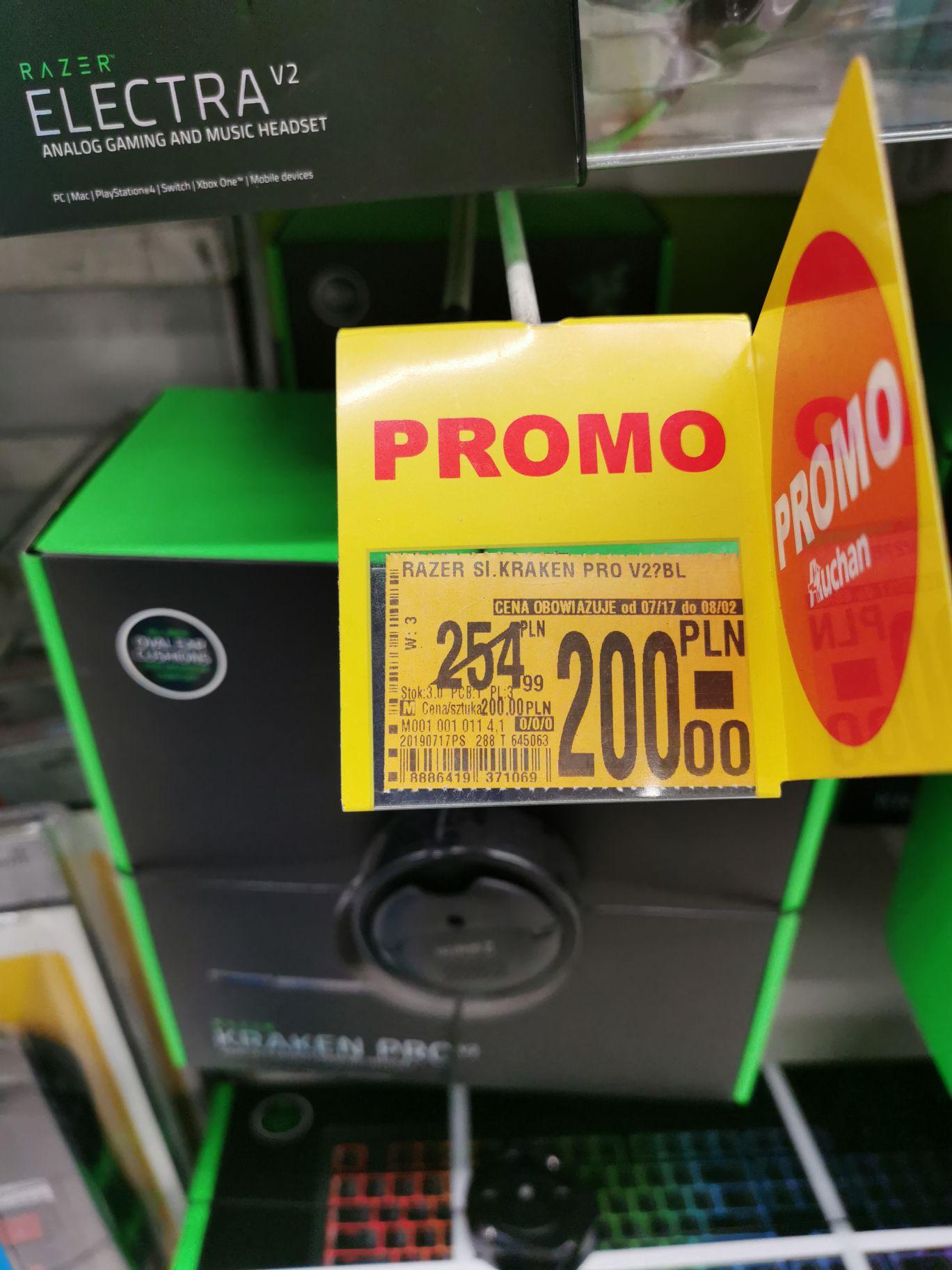 Razer Kraken Pro v2 Black |Auchan w Katowicach na DTŚ