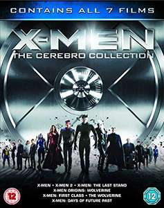 Blu-ray Wersja ENG 7 filmów X-Men Franchise - The Cerebro Collection