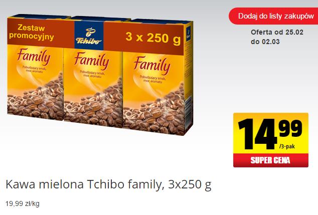 Tchibo Family 3x250g @Biedronka