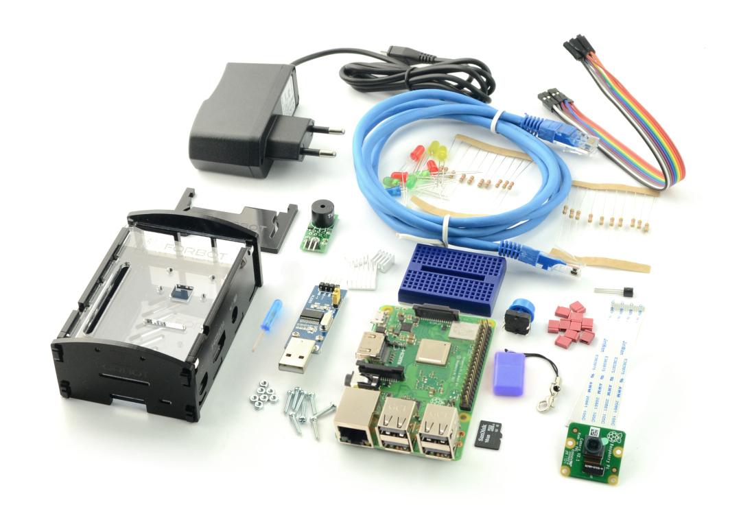 Zestaw Raspberry Pi 3B+ rozszerzony + bezpłatny kurs ON-LINE