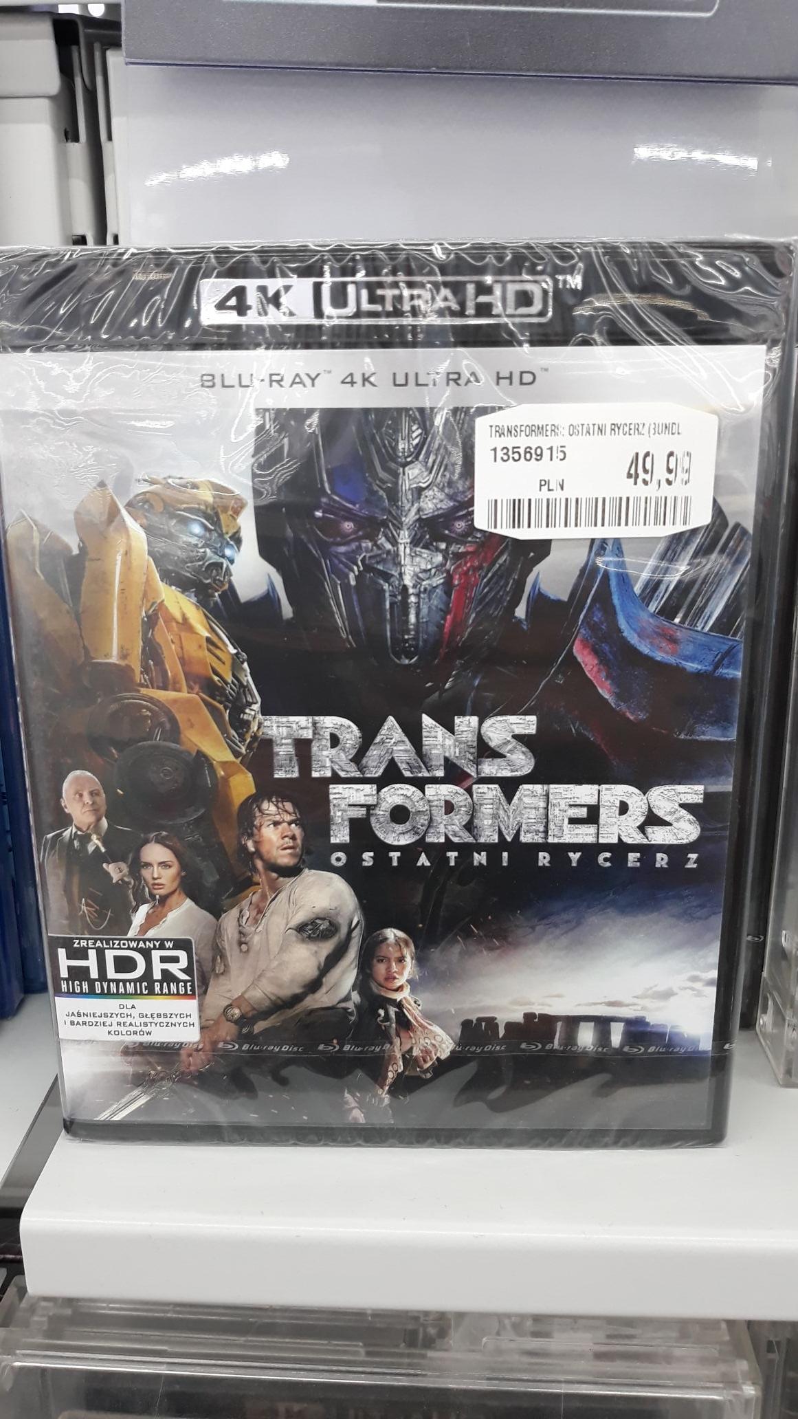 Transformers ostatni rycerz 4k