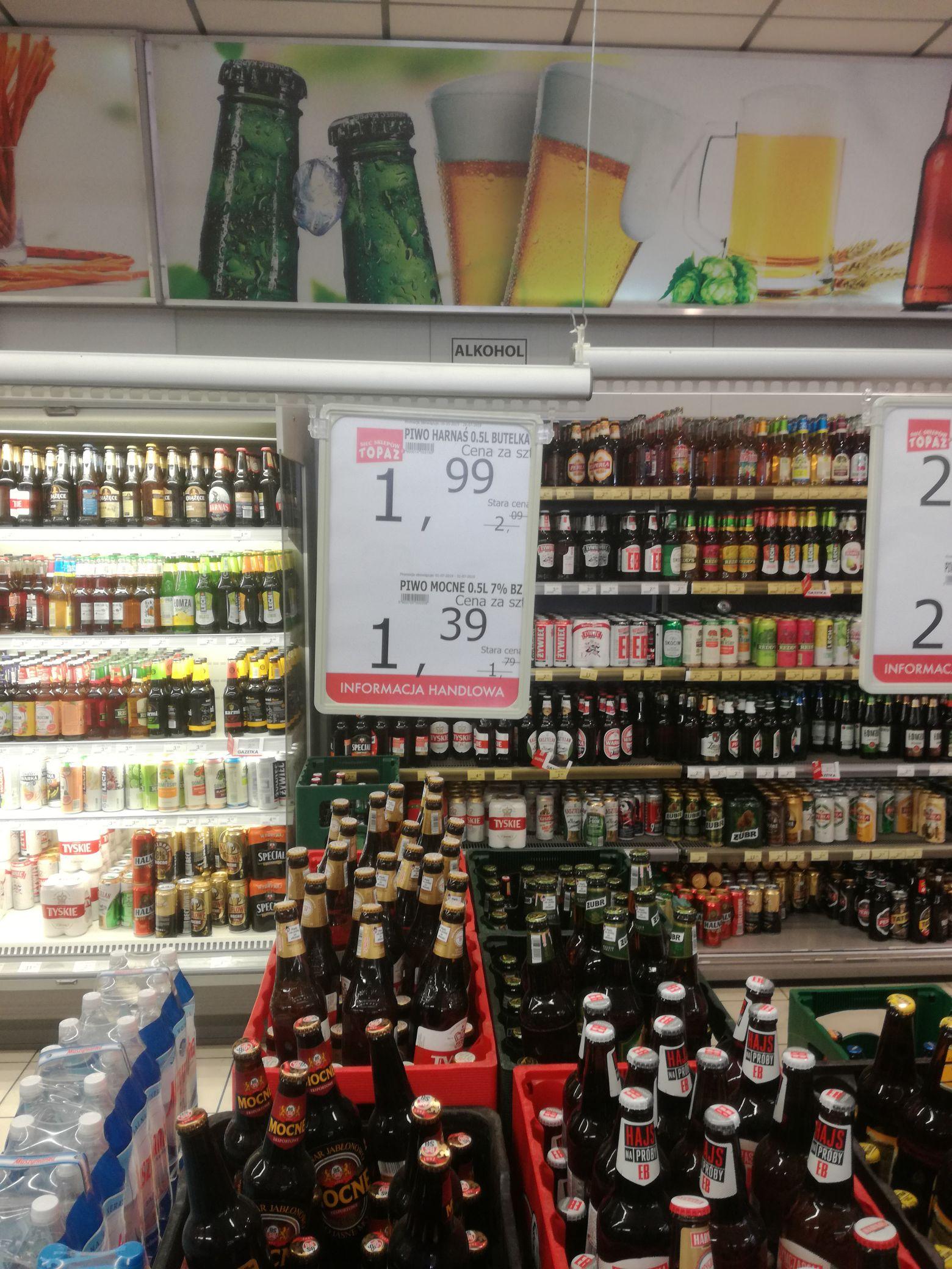 Browar Jabłonowo Piwo mocne 7.2%, butelka 0.5 l