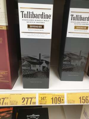 tullibardine single malt scotch whisky, 0,7, Auchan Poznań-Swadzim
