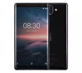 Nokia 8 Sirocco (czarny)