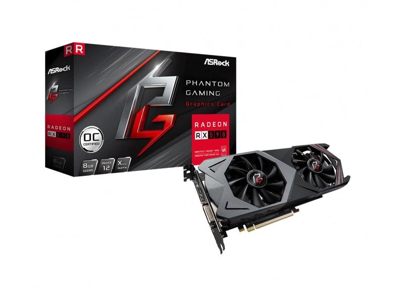 ASRock Radeon RX 590 Phantom Gaming X 8G OC GDDR5