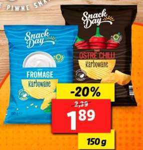 Chipsy Snack Day Lidl