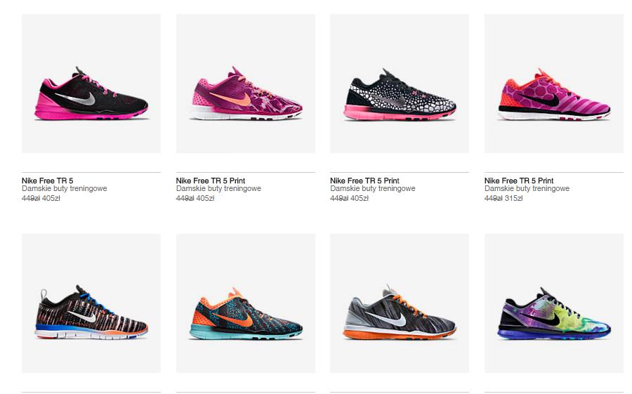 40% dodatkowego rabatu na buty sportowe Nike Free TR (damskie) @ Nike