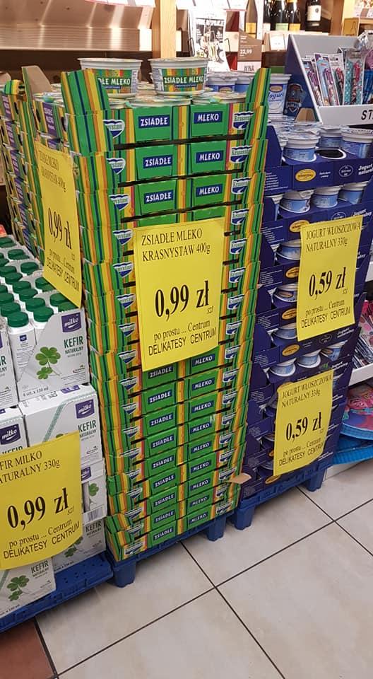-55% na kefir milko w delikatesach centrum (woj śląskie)