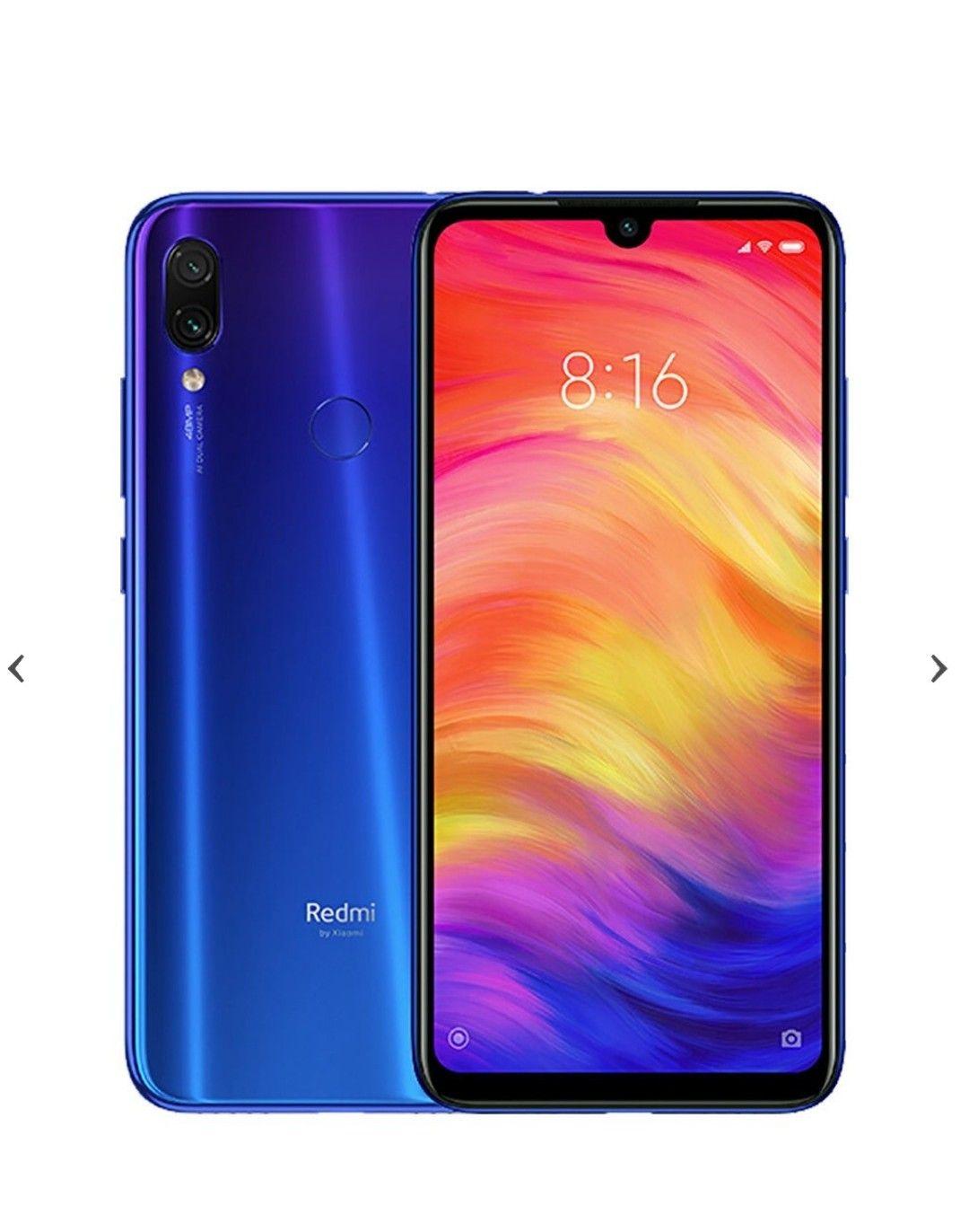 Xiaomi Redmi Note 7 4/64 niebieski Proline polska dystrybucja 24 mc gwarancji
