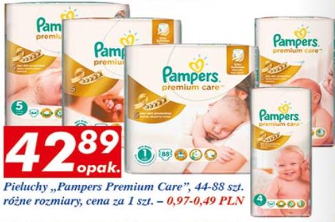 Pieluszki Pampers Premium Care za 42,89zł @ Auchan