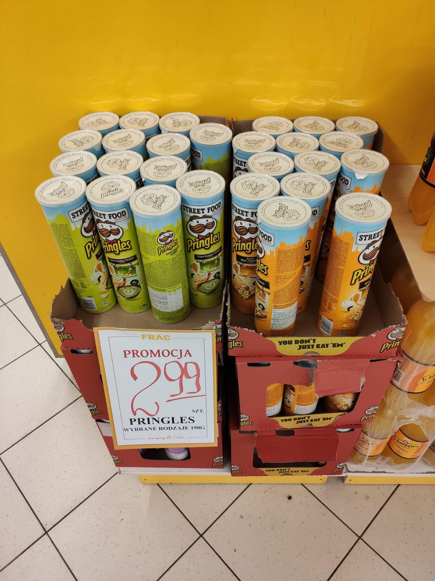Pringles za 2.99 we FRAC Rzeszów