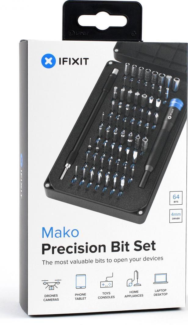 Narzędzia serwisowe iFixit Zestaw 64 bit, śrubokręt magnetyczny (EU145299)