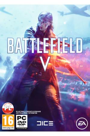 Wersja pudełkowa gry Battlefield V na PC