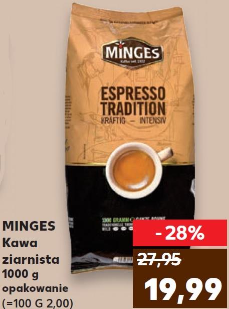 Kawa ziarnista Minges Espresso Tradition 1 kg