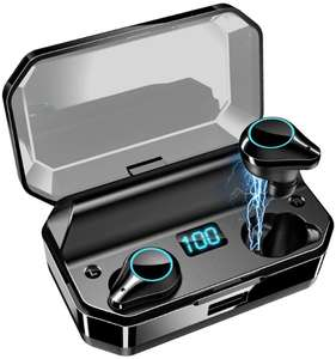 Wypasiony zestaw słuchawkowy Jamesa Bonda za 39.40$ QCR T9 TWS IPX7 BT 5.0