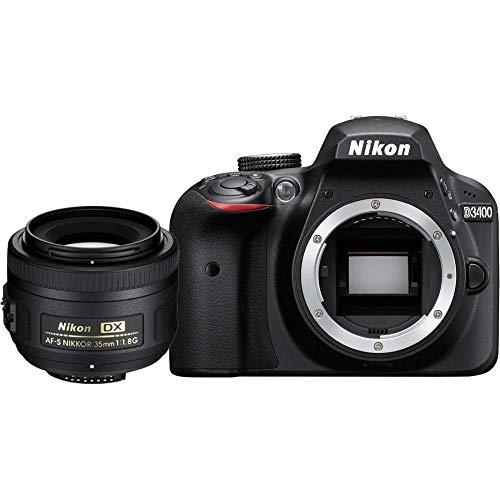 Lustrzanka Nikon D3400 KIT z AF-S DX Nikkor 35 mm 1:1.8G