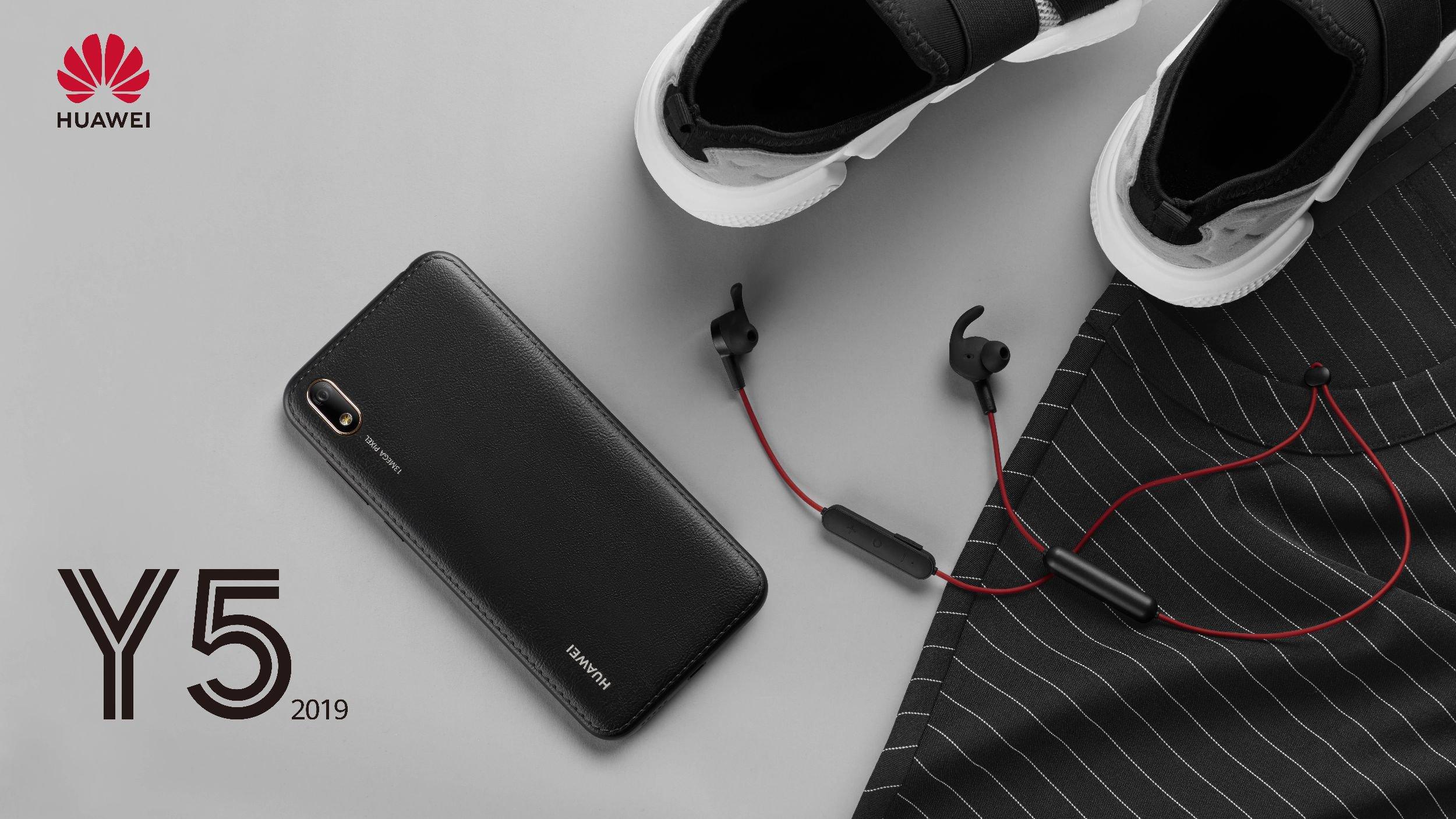 SMARTFON Huawei Y5 2019 black