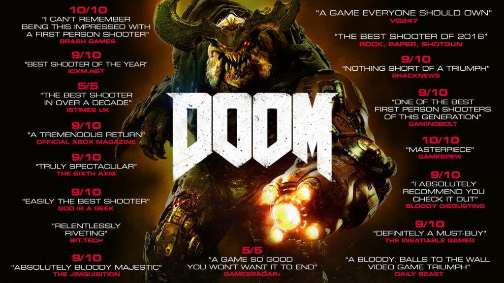 Gra DOOM w wersji cyfrowej na Steam (PC)