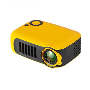 Mini projektor TRANSJEE A2000 Mini Portable Projector 800 Lumens 320*240P Native Resolution Supported 1080P
