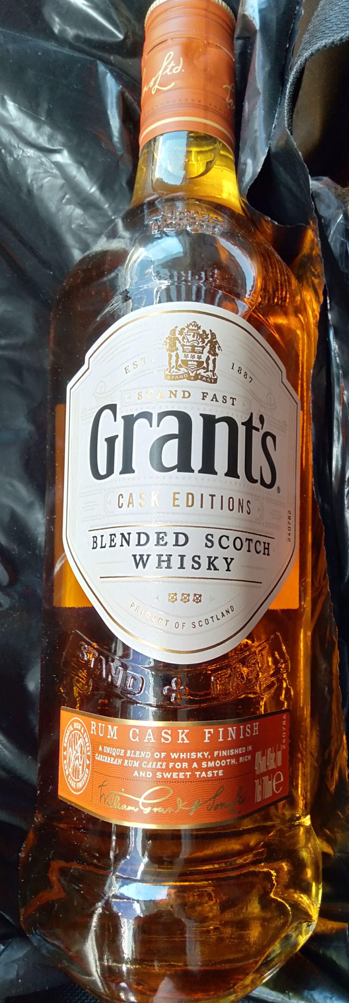 Whisky Grants Rum Cask Finish 0.7 l