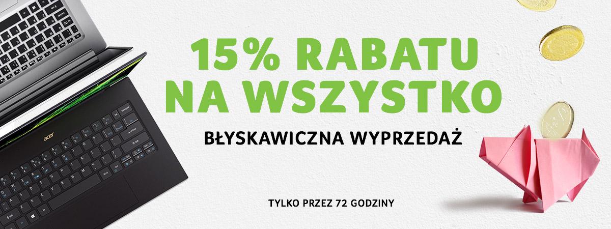 -15% Na Wszystko w Acer Store