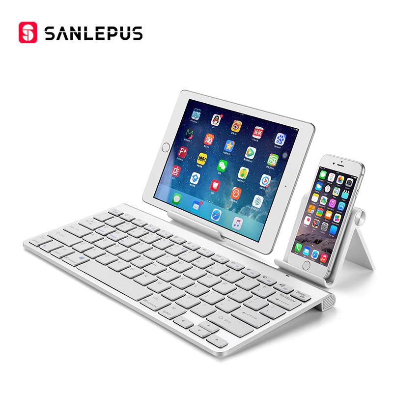 Bezprzewodowa Klawiatura SANLEPUS  BT do smartfoów , tabletów ... @ AliExpress