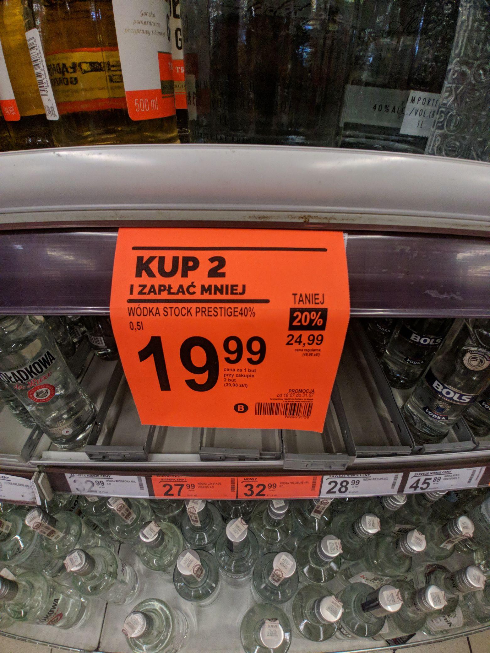 Stock 2x 0.5 Rzeszów hetmanska.