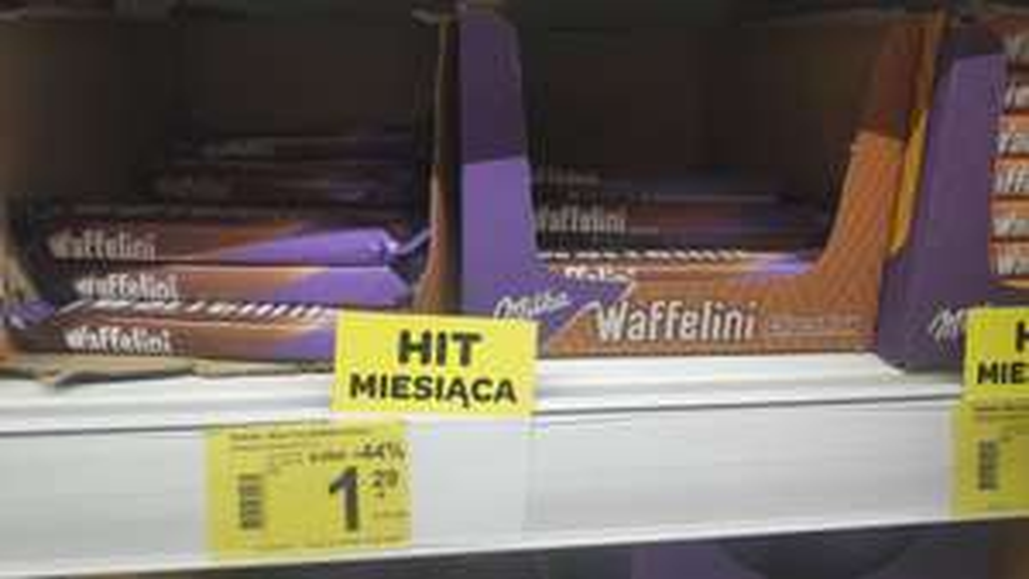 Wafelek Milka Waffelini 31g - Carrefour